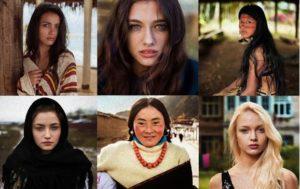 世界で異なる美人の定義